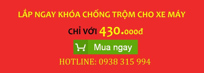 Khoa chong trom xe may the tu chi 430k